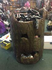 Tree Trunk Bucket Decor Halloween Prop Outdoor Decoration - Discountined