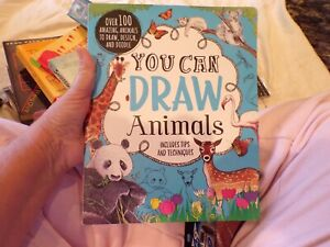 NEW 48 Drawing Sketching Pencils + You can Draw Animals Book