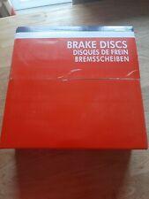 UNIPART Front Brake Discs (x2) CITROEN C15 Saxo ZX PEUGEOT 106 205 306 309 405