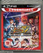 "Super Street Fighter IV (4) Edición De Arcade ""Nuevo y Sellado' * PS 3 *"
