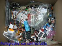 Lot de 4Kg de Divers composants Actifs et Passifs, Neufs et de Récupération