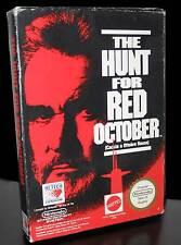 THE HUNT FOR RED OCTOBER GIOCO USATO PER NINTENDO NES EDIZIONE ITALIANA 29162