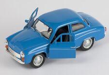 BLITZ VERSAND Syrena 105 FSM blau / blue Welly Modell Auto 1:34 NEU & OVP