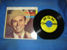 The Unforgettable Hank Williams by Hank Williams (Vinyl 45 EP