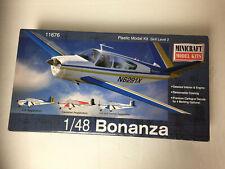 Bonanza Airplane Kit Minicraft Model# 11676. 1/48 Scale