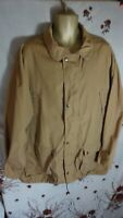 FJALLRAVEN mens vintage collared spring summer lightweight coat jacket size XL d