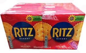 6 Packs Ritz Original Crackers 70% Less Fat Biscuits