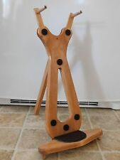 DELUXE HANDCRAFTED MOUNTAIN DULCIMER STAND