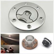 Billet Aluminum Aircraft Fuel Cell Gas Cap Flush Mount With 6Hole Anodized