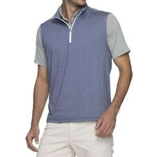 "Johnnie-O 1/4 zip pullover Sleeveless vest men's ""S"" New,Like $100 originally."
