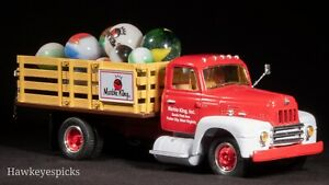 Marble King PROMOTIONAL STAKE TRUCK+BOX LOGO SHOOTER MARBLE+OTHERS hawkeyespicks