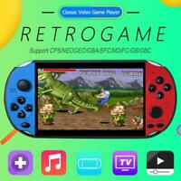 5.1 inch Portable X12pro Retro Classic Game Console Handheld 3000 Built-in Games