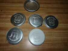 antique Ashtray lot of 6, advertising Littell Chicago & Brown Boggs Canada Press