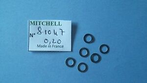 6 Washer Wear 0,20 Mitchell 300 & Various Reels Shims Real Part 81047