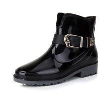 Standard Width (B) Rubber Ankle Boots for Women