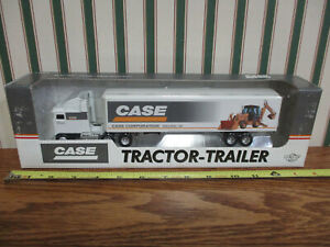 Case Construction/Case IH Kenworth Semi With Van Trailer By Ertl 1/64th Scale