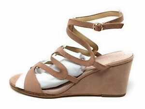 Chinese Laundry Womens Radical Wedge Dress Sandals Nude Size 10 M US