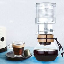 400ml Espresso Drip Maker Coffee Filter Ice Cold Brew Coffee Dripper Glass Pot