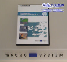 Tipps + Tricks Nr. 1 - Schulungs-DVD - MacroSystem