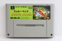 Mickey Mania SFC Nintendo Super Famicom SNES Japan Import US Seller I6124