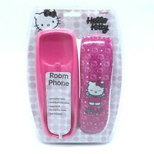 NEW Hello Kitty Pink Corded Home Phone Room Telephone