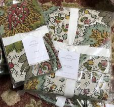 Pottery Barn Salinas Duvet Cover Set Queen 2 Standard Shams Floral Provençal New