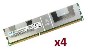 4x 32GB 128GB DDR3 1866MHz ECC LRDIMM RAM f.Dell Precision R7610 Rack;T3610Tower