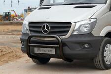 PARE BUFFLE HOMOLOGUE NOIR MERCEDES SPRINTER 2013-, INOX DIA 70mm, GARANTIE 6ans
