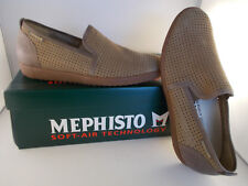 Mephisto Ulrich Camel Sportbuck Handmade Soft-Air Men's Shoes Size 8 New In Box