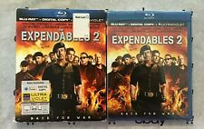 The Expendables 2 (Blu-ray + Digital Copy) + Slip Cover! Stallone | Statham