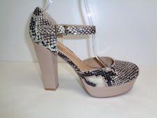 Style & Co. Asyaa Women's Heels Black/Gold Size 7.5 M