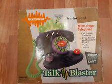 Vintage 90s Nickelodeon Talk Blaster Land Line Telephone Purple