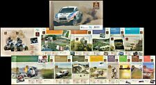 DAKAR RALLY IN ARGENTINA-2010-STAMPS BOOKLET+ POST CARD-MNH