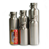 Full 18/8 Stainless Steel Double Wall Vacuum Insulated Water Bottle Thermos