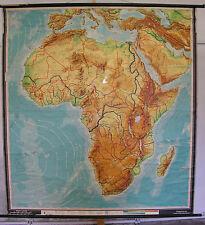 Schulwandkarte Wandkarte Afrika Africa Afrika-Karte physisch physical 184x199 5M