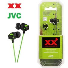 JVC HA-FX101 Xtreme Xplosives In-Ear Stereo Deep Bass Headphones - Green