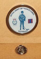 Royal Army Ordnance Corps Veteran Lapel pin badge