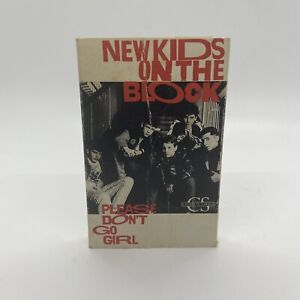 Please Don't Go Girl by New Kids on the Block (Cassette, Sep-1988, Columbia)