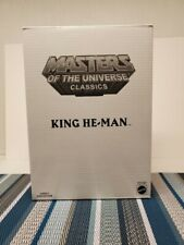 Mattel Masters Of The Universe Classics Club Eternia KING HE-MAN (NEW) Sealed.