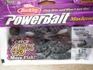 Powerbait MaxScent Meaty Chunk - Black