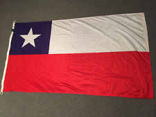 """Chile Country Flag by Alamo Flag Company 5 ft x 32"""" vtg"""