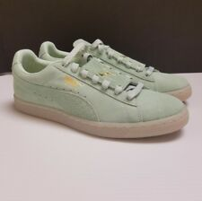 00d1870189 PUMA Suede Classic Men's Gossamer Green/Gold/White 36549401 Sz 8.5 US Epic  Snake