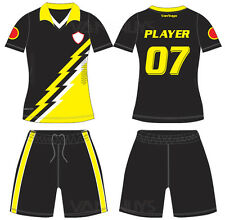 15 Soccer Team Uniform Set Short & Socks With Free Name Numbers and logo AT#115