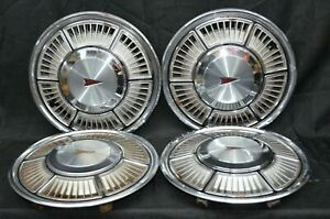 "1980 1981 1982 Pontiac Phoenix Hubcaps Wheel Covers Set of 4 Used 13"" OEM"