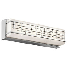 Kichler Zolon 18 inch Chrome LED Bath Light Wall Orig $447