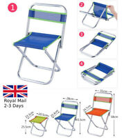 Children's Small Folding Portable Chair Garden Camping Fishing Stool Footrest