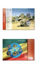 Ethiopia Type Set 50,25,10,5,1 Cents BU