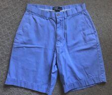 Polo Ralph Lauren Men's Periwinkle Color Flat Front Shorts Size 30