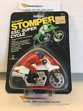 #1 Schaper Stomper SSC Super Cycle * WHITE * SEALED in Original Package * M3