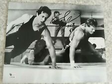 "TOMMY ""THE DUKE"" MORRISON SIGNED AND INSCRIBED BOXING PHOTO W/STALLONE ""RARE"""